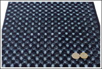 Kasuri Indigo Cotton Textile Panel