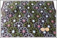 Premium Meisen Kasuri Indigo Cotton Textile Panel