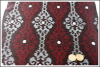 Premium Meisen Kasuri Indigo Cotton Textile Panel New Old Stock