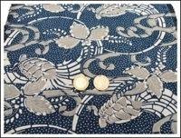 Katazome Indigo Textile
