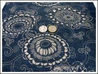 Katazome Long Indigo Textile