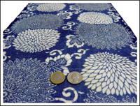 Katazome Indigo Cotton Textile