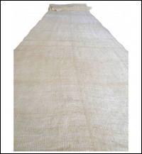 Kaya Beige Mixed Hemp  Cotton Mosquito Netting