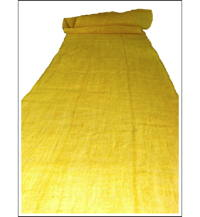 Kaya Lemon Yellow Hemp Mosquito Netting