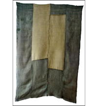 4 Panel Set Kaya Mixed Colors Hemp Mosquito Netting