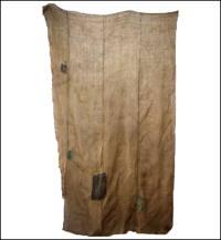 Kaya Boro Olive Green  Brown HempCotton Mosquito Netting