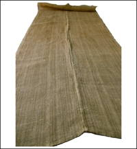 Large Kaya Beige Hemp Mosquito Netting