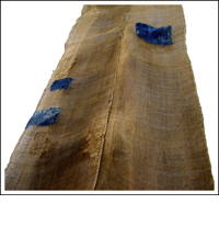 Long Kaya Boro Brown Hemp Mosquito Netting