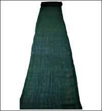 Mixed Hemp  Cotton Emerald Green Indigo Mosquito Netting