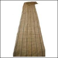 Kaya Beige  Indigo Stripe Hemp Mosquito Netting