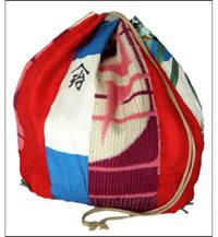 Komebukuro Medium Silk  Cotton Rice Bag