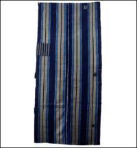 Large Old Boro Stripe Indigo Cotton Panel