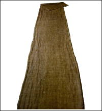 All Cotton Brown Kaya Mosquito Netting