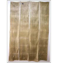 Kaya Boro Beige Cotton Mosquito Netting 4 Panels