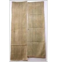 Kaya Boro Beige Cotton Mosquito Netting 2 Panels