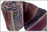 Old Cotton Hand Loomed Sakiori Obi Very Nice