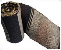 Old Cotton Hand Loomed Sakiori Obi