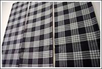 SALE 3 Panel Set Check Cotton Textiles