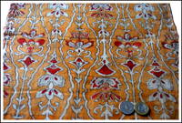 Sarasa Katazome Madder Cotton Textile A Rare Find
