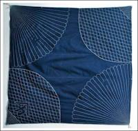 Early Large Indigo Sashiko Cover