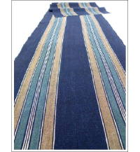 Indigo Stripe Textile Shima