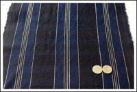 Old Stripe Cotton Indigo Textile