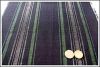 Old Stripe Cotton Indigo Textile Old Stock