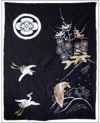 Early Tsutsugaki Futon Cover