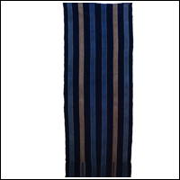 Stripe Cotton Indigo Boro Textile Futon Cover DIY Repair