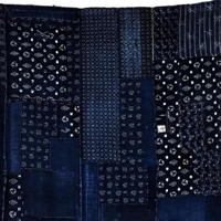 Fabulous Kasrui Early Boro Indigo Cotton Futon Cover