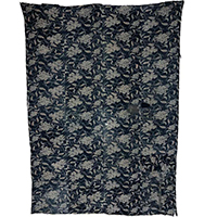 Wonderful Early 2 Color Katazome Indigo Cotton Boro Futon Cover