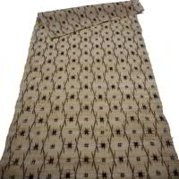 Finely Woven Kasuri Hemp Textile Panel