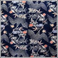 Wonderful Meiji Era ca1900 Indigo Katazome Cotton Futon Cover