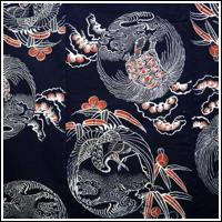 Fabulous Meiji Era ca1900 Indigo Katazome Cotton Futon Cover