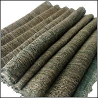 Exceptional Kaya Beige  Green Hemp Mosquito Netting