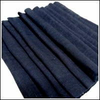 ExtraExtra Long Kaya Mixed Cotton Hemp Very Dark Indigo Mosquito Netting