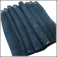 Lovely Blue Green Kaya Hemp Mosquito Netting