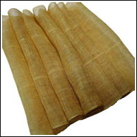 Natural Beige Kaya Hemp Mosquito Netting