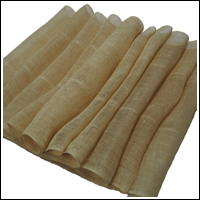 Extra Long Natural Beige Kaya Hemp Mosquito Netting