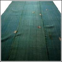 Kaya Cotton Green Boro Patched Mosquito Netting