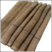 Extra Long Exceptional Kaya Beige Hemp Mosquito Netting