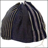 Large Size Komebukuro Indigo Cotton Rice Bag