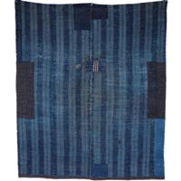 Sashiko Lovers Indigo Patchwork Cotton Kotatsu Table Cover