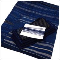 DIY Boro Mend Indigo Cotton Futon Cover Fabric