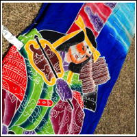 Vintage Long Noboribata Boys Day Banner Samurai Theme