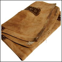 Old Large Soft Sakabukuro Cotton Sake Bag