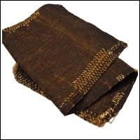 Exceptional Old Sakabukuro Cotton Sake Bag