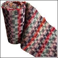 Old Hand Loomed Sakiori Cotton Obi