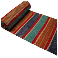 Old Hand Loomed Extra Long and Extra Wide Sakiori Cotton Obi