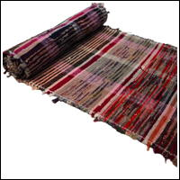 Old Hand Loomed Extra Wide Sakiori Cotton Textile